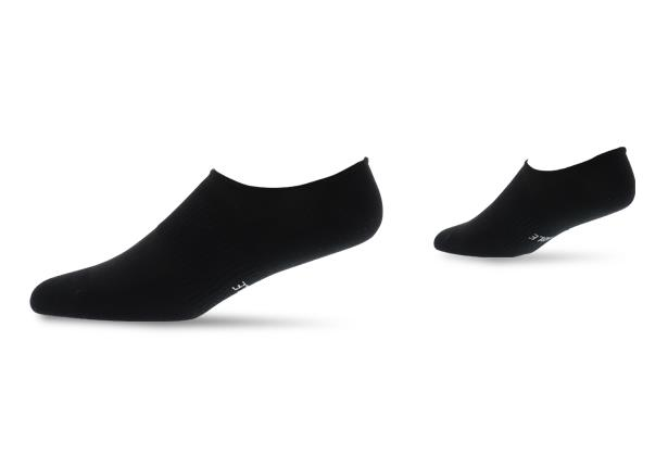 Image of THE ATHLETE'S FOOT INVISIBLE SOCK BLACK