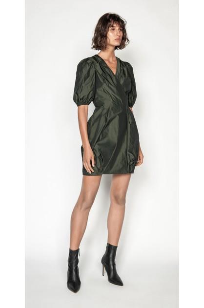 Image of Cue Women's Puff Sleeve Dress