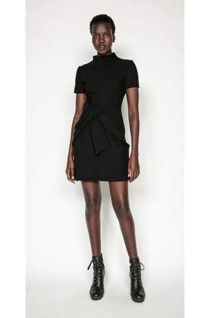 Image of Cue Women's Twist Waist Dress