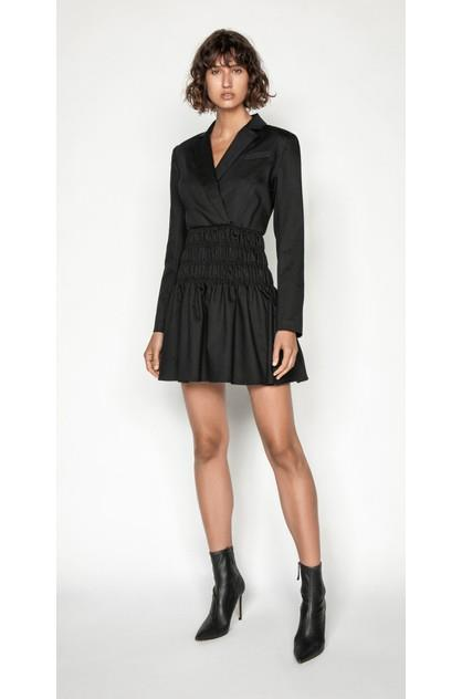 Image of Cue Women's Shirred Blazer Dress