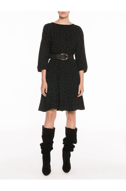 Image of Veronika Maine Women's Scattered Dot Short Dress