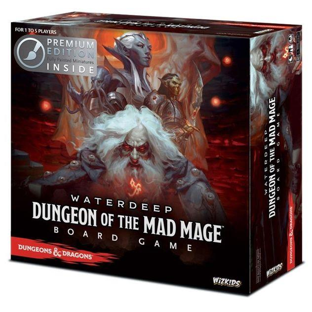 Image of Game Kings Waterdeep Dungeon of the Mad Mage Premium Edition