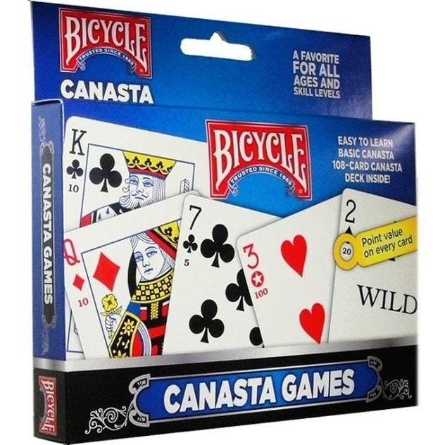 Image of Game Kings Bicycle Canasta Playing Cards