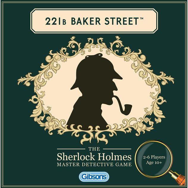 Image of Game Kings 221B Baker Street The Sherlock Holmes Master Detective Game
