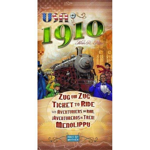 Image of Game Kings Ticket to Ride USA 1910 Expansion