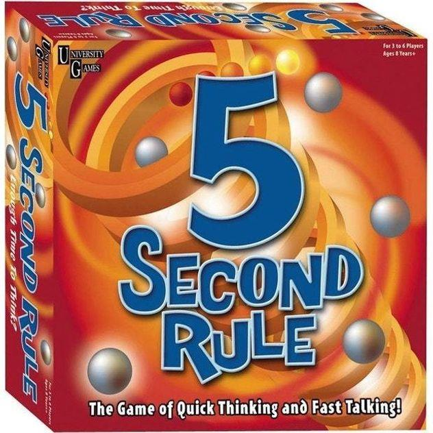 Image of Game Kings 5 Second Rule NZ Edition