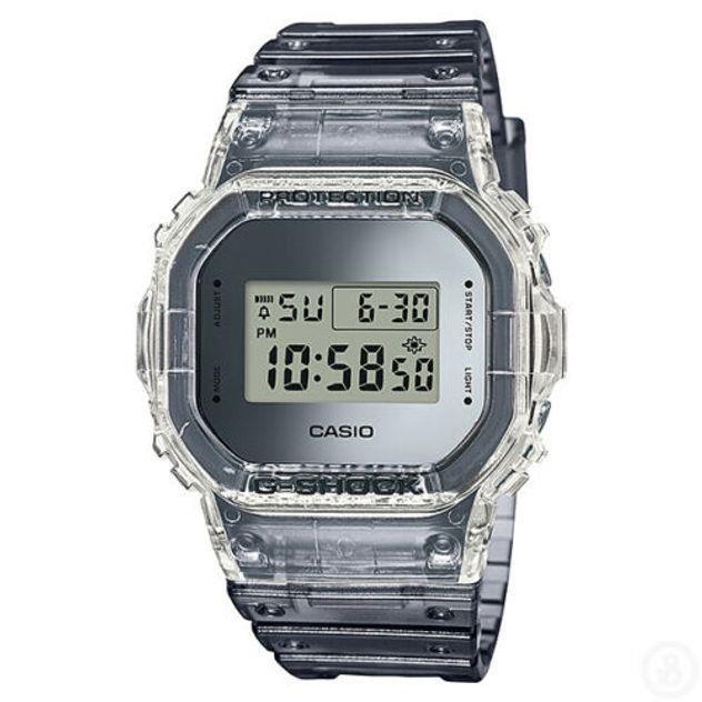 Image of G-Shock Men's Casio Semi-Transparent Special Colour Edition Digital Watch DW5600SK-1 DW-5600SK-1DR