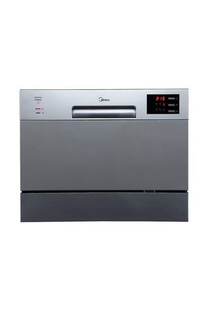 Image of Midea 6 Place Setting Bench Top Dishwasher Stainless Steel JHDW6TT
