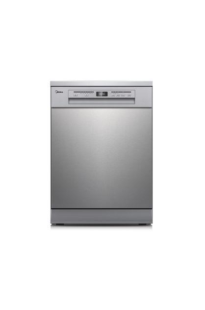 Image of Midea 15 Place Setting 3-Layers Dishwasher Stainless Steel with 3-year Warranty JHDW152FS