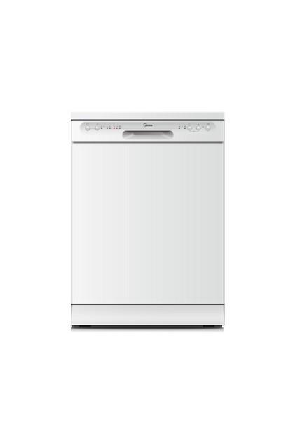 Image of Midea Midea12 Place Setting Dishwasher White JHDW123WH
