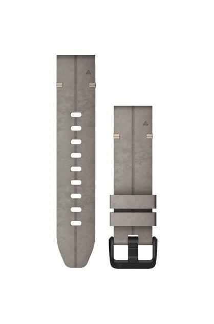 Image of Garmin QuickFit 20 Suede Leather Watch Band