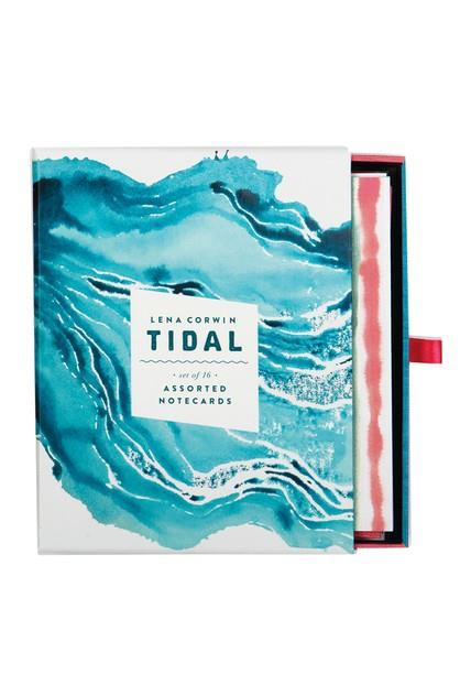 Image of Galison Assorted Greeting Cards Tidal