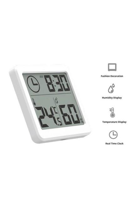 Image of Amazing Deals LCD Display Digital Hygrometer Indoor Thermometer Humidity Monitor