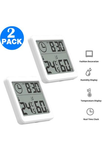 Image of Amazing Deals 2 X LCD Display Digital Hygrometer Indoor Thermometer Humidity Monitor