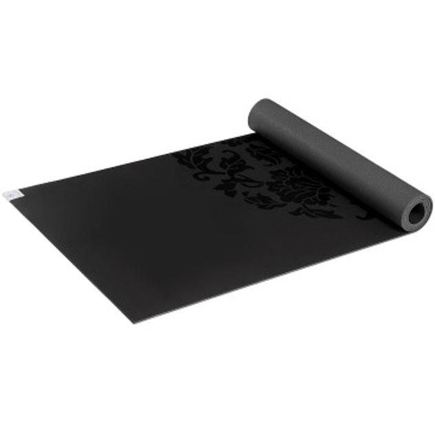 Image of Gaiam Yoga Mat Dry Grip Black