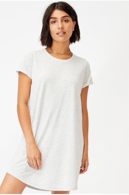 Image of Cotton On Women's On Tina Tshirt Dress 2 Grey