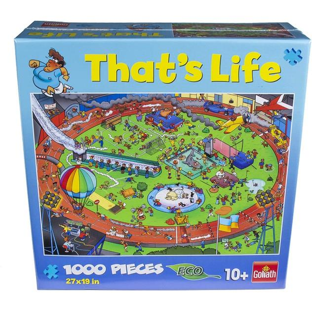 Image of Game Kings That's Life Football 1000pc Puzzle
