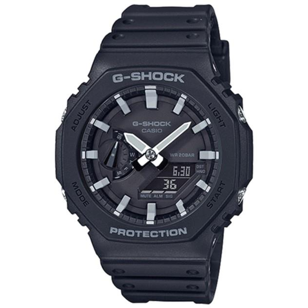 Image of G-Shock Men's GA2100-1A CARBON CORE BLACK GREY
