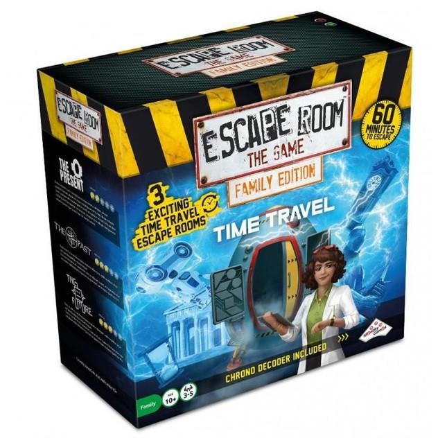 Image of Game Kings Escape Room the Game Family Edition Time Travel