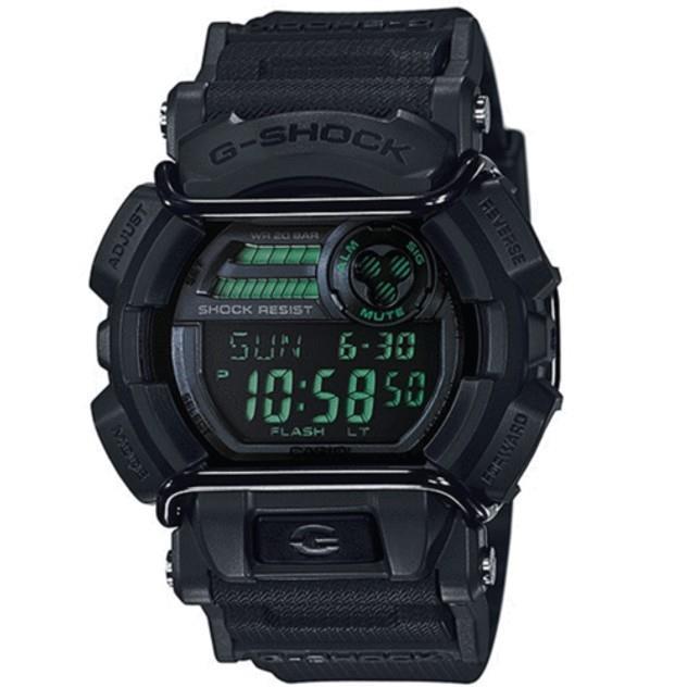 Image of G-Shock Men's CASIO GD400MB-1D LARGE DIGITAL WATCH BLACK