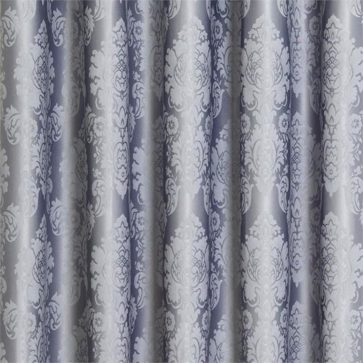 Damask Blockout Pinch Pleat Curtains