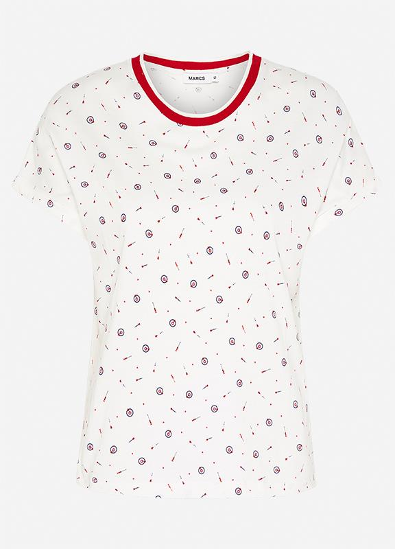 Image of A Game Of Hearts Printed Tee