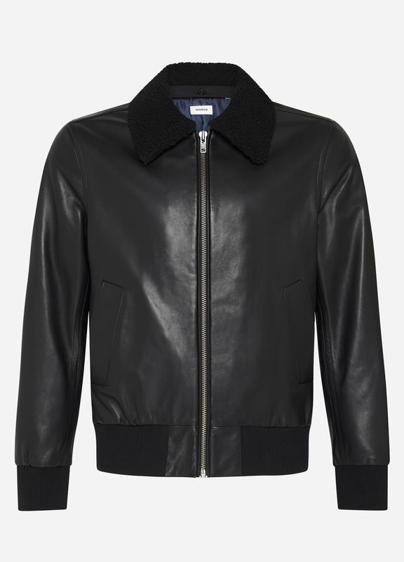Franco Leather Bomber