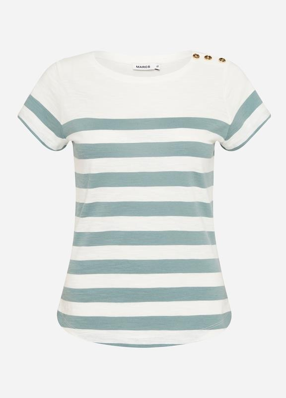 Mint To Be Button Tee