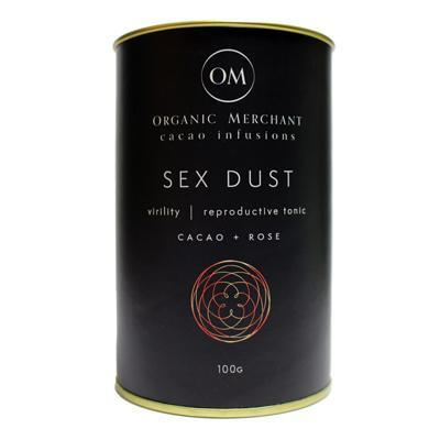 Organic Merchant Sex Dust - Maca, Cacao and Rose100g