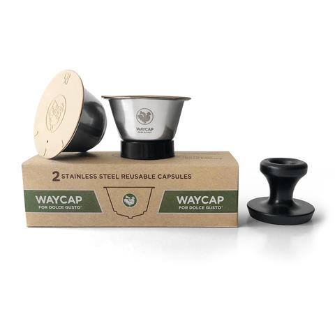 WayCup - Dolce Gusto®* Compatible Refillable Capsules - Two Pack