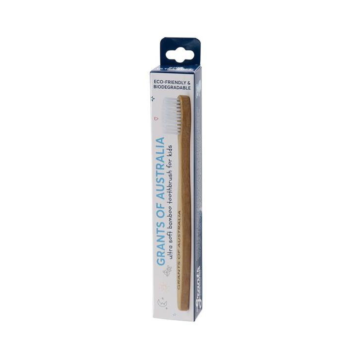 Grants - Bamboo Toothbrush - Kids Ultra Soft