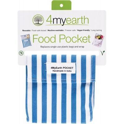 4myearth - Snack Pocket - Denim Stripe