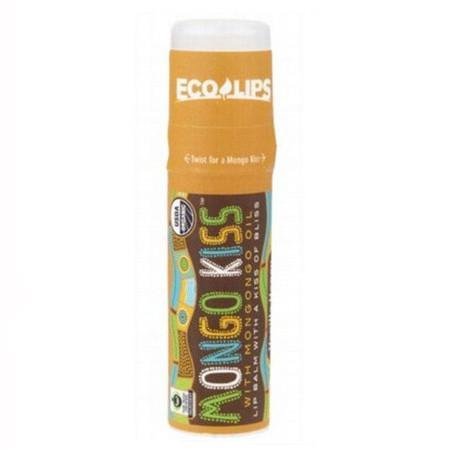 Eco Lips - Mongo Kiss Vanilla HoneyLip Balm - 7g