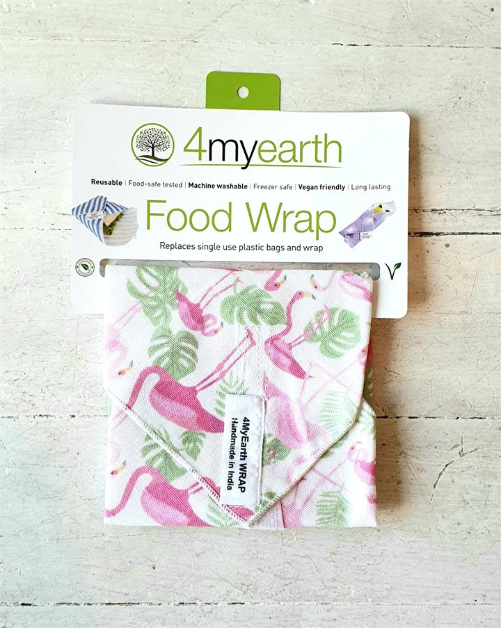 4MyEarth Food Wraps - Flamingoes