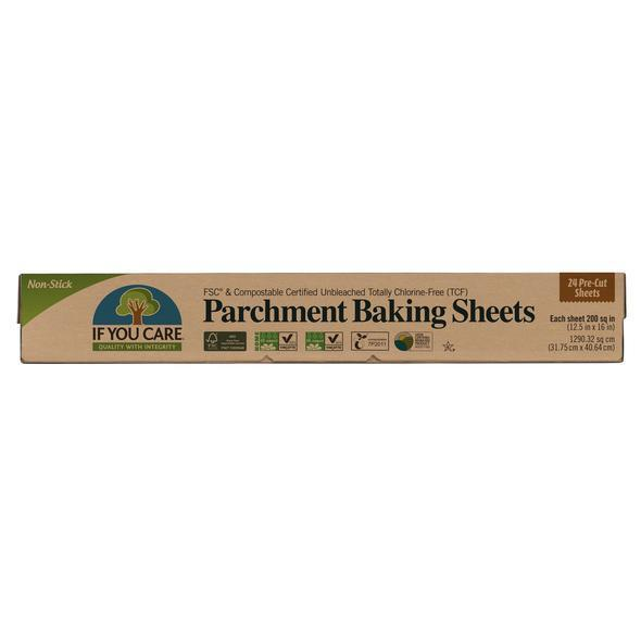 If You Care - Baking Paper Sheets 24 pack