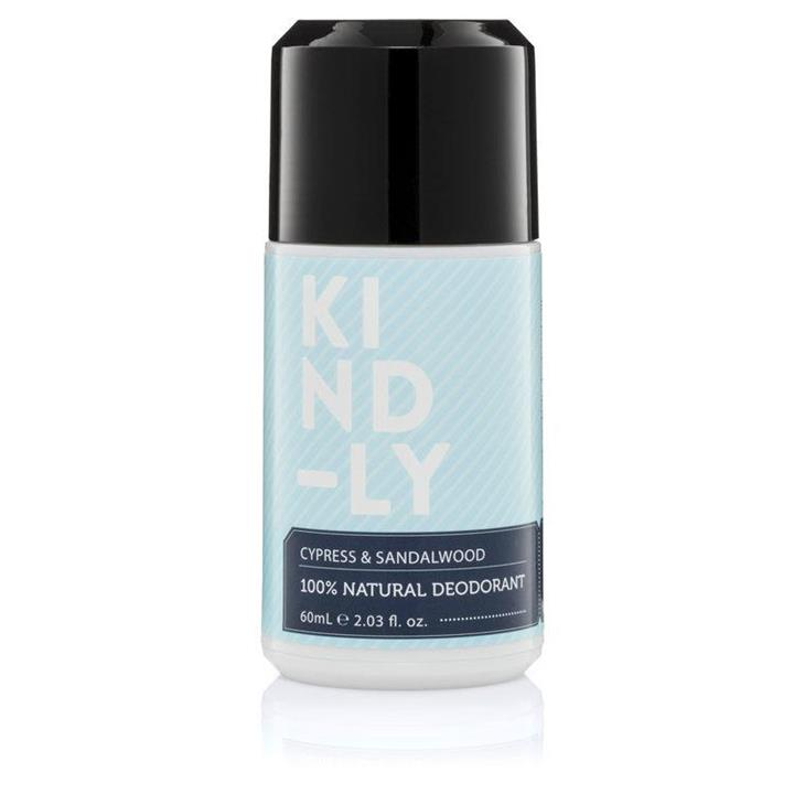 KIND-LY - Natural Deodorant - Cypress and Sandalwood 60ml