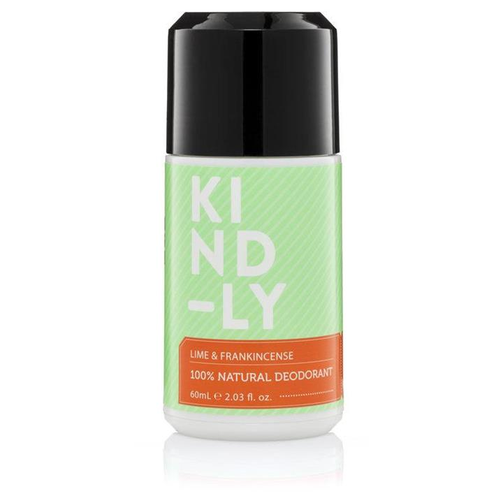 KIND-LY - Natural Deodorant - Lime and Frankincense 60ml