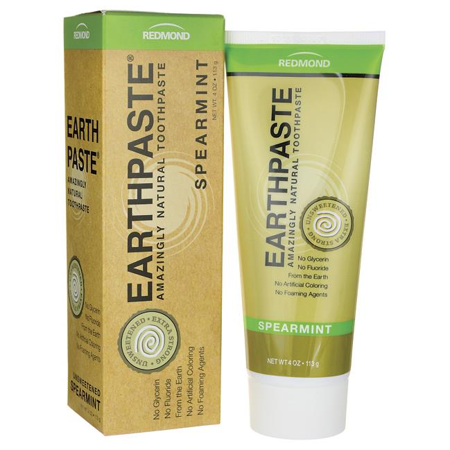 Redmond Earth Paste Toothpaste - Spearmint