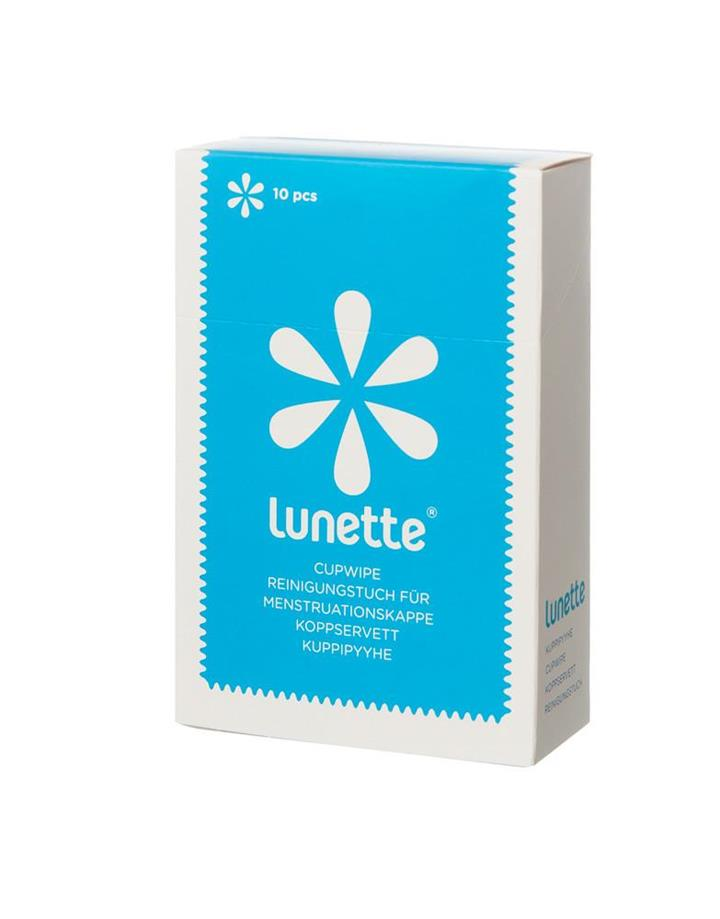 Lunette - Menstrual Cup Disinfecting Wipes 10 pack