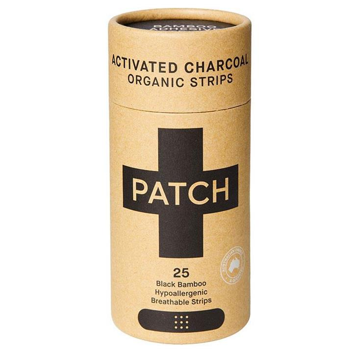 Patch - Activated Charcoal Bamboo Bandages (25 pack)