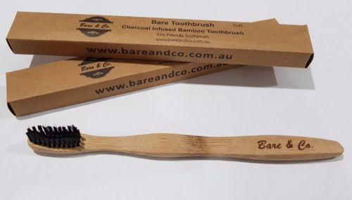 Bare & Co. - Eco Friendly Toothbrush - Soft Charcoal