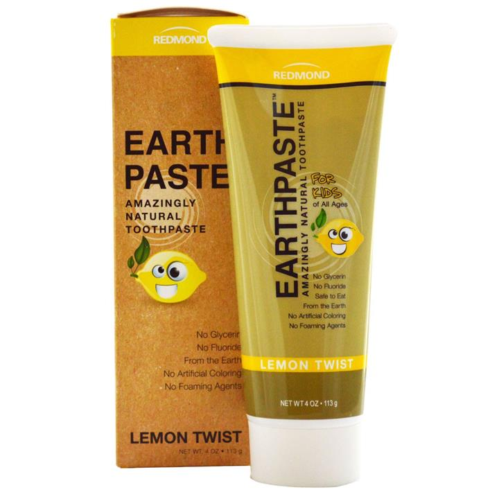 Redmond Earth Paste Toothpaste - Lemon Twist