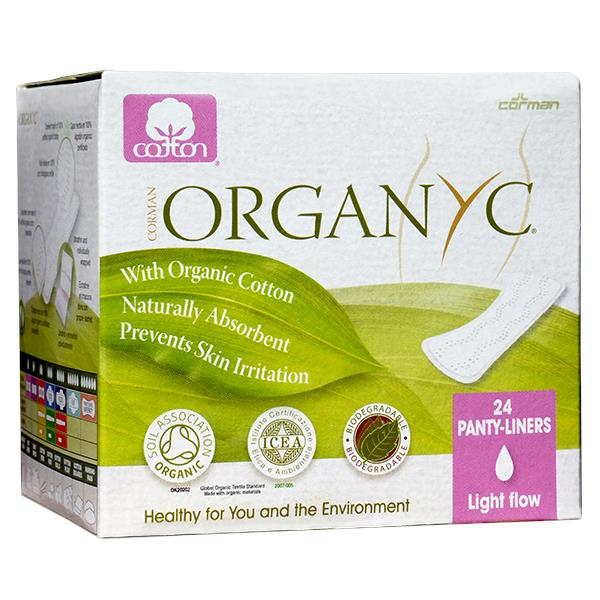 Organyc - Organic Cotton Panty Liners - Light Flow (24 pack)