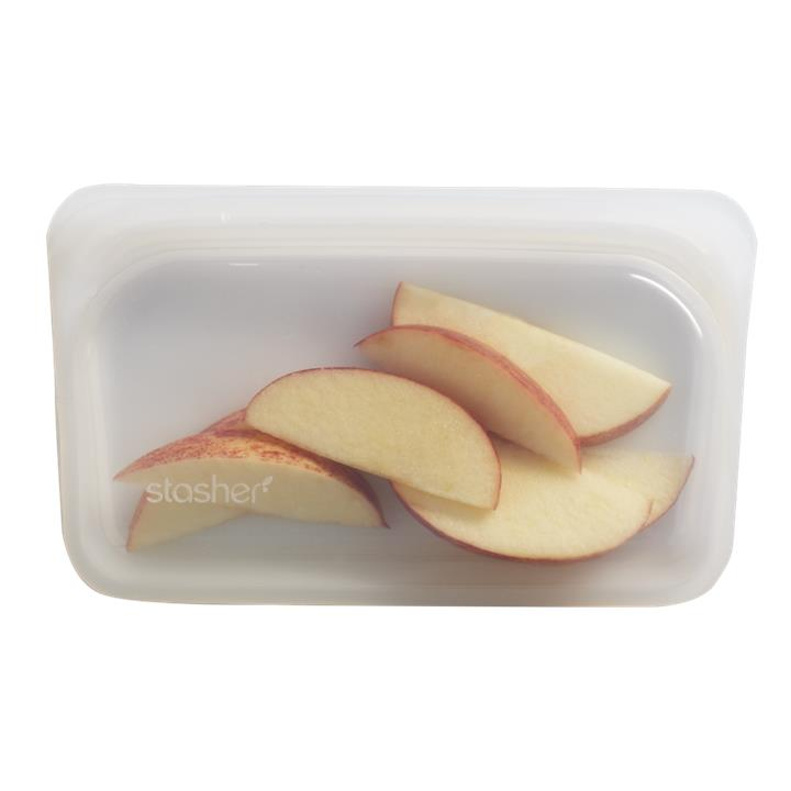 Stasher - Plastic-Free Snack Bag - Clear