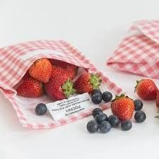 4myearth - Snack Pocket - Gingham Design