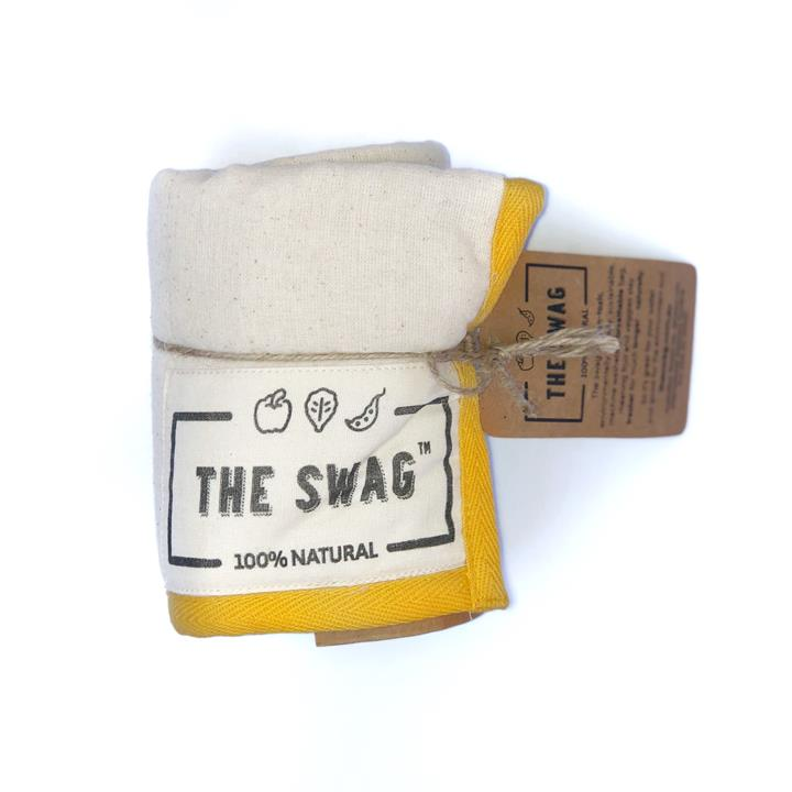 The Swag - Long Yellow Trim