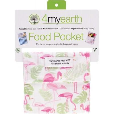 4MyEarth Food Pocket - Flamingoes