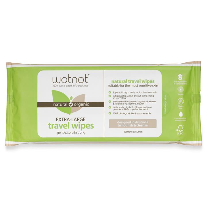 Wotnot - Biodegradable Wipes - 20 pack refill