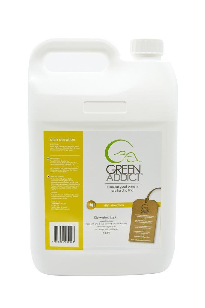 Green Addict Dish Devotion Dish Liquid - Refill 5L