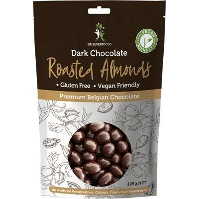 Dr Superfoods - Dark Chocolate Roasted Almonds (125g)